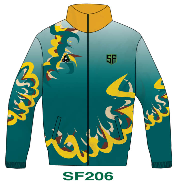 Sports Factory Lawn Bowls Jacket Design SF206