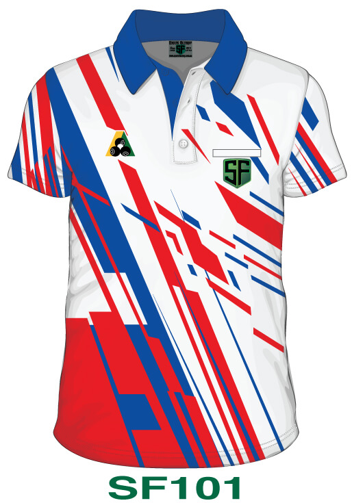 Sports Factory Lawn Bowls Polo Shirt Design SF101
