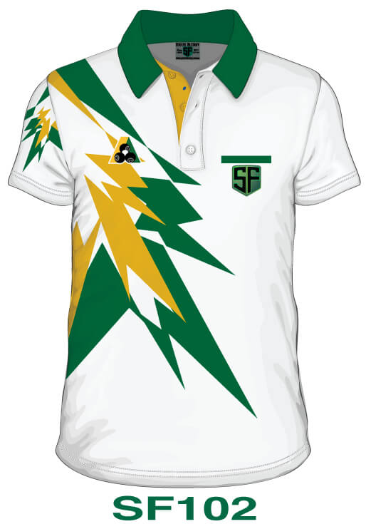 Sports Factory Lawn Bowls Polo Shirt Design SF102