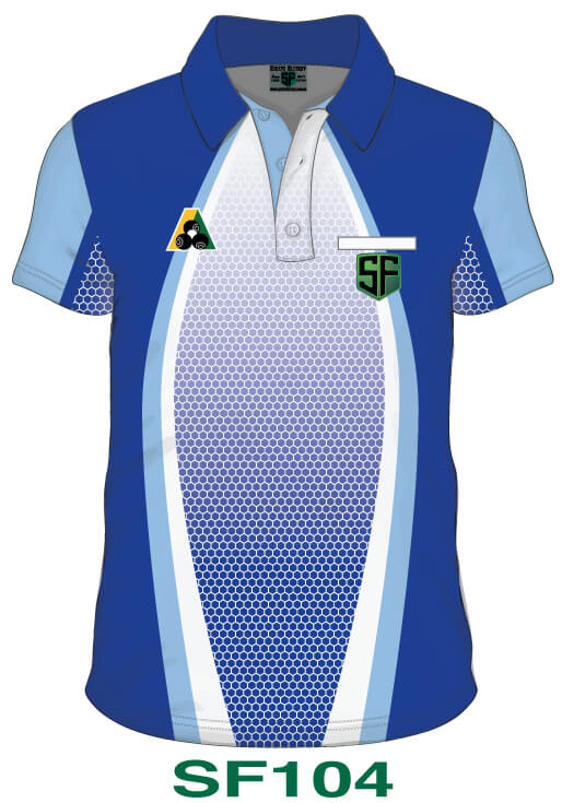 Sports Factory Lawn Bowls Polo Shirt Design SF104