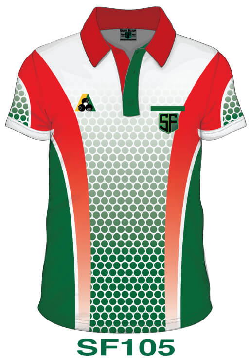 Sports Factory Lawn Bowls Polo Shirt Design SF105