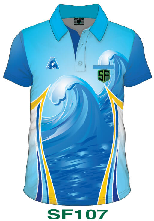 Sports Factory Lawn Bowls Polo Shirt Design SF107