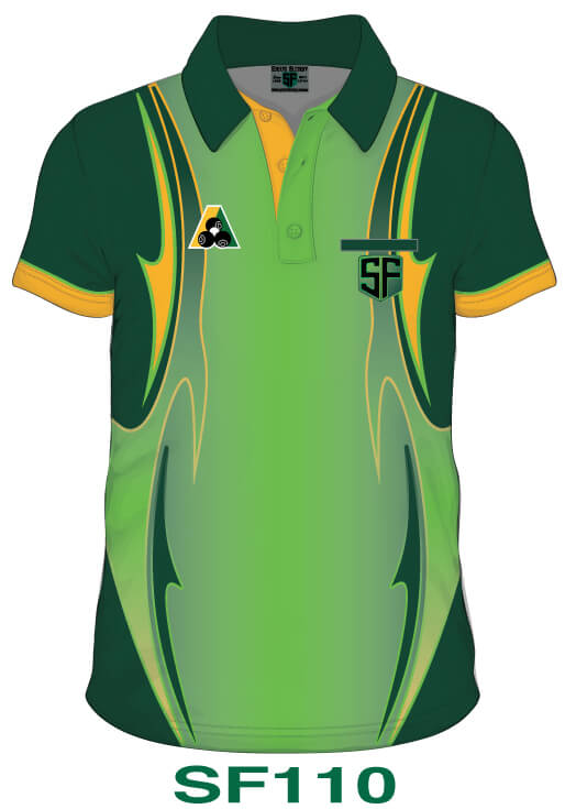 Sports Factory Lawn Bowls Polo Shirt Design SF110