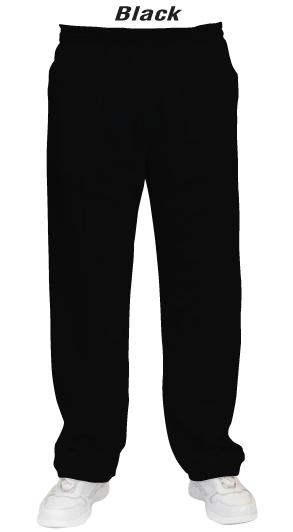 Black Men & Womens' Lawn Bowls Pants