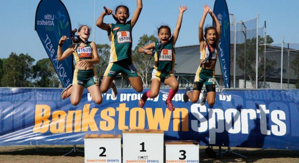 Bankstown Sports Little Athletics Uniforms
