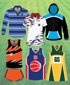 Sports Factory Sydney Australia Custom Apparel Designs