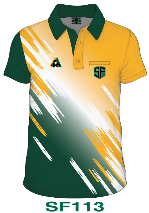orts Factory Lawn Bowls Polo Shirt Design