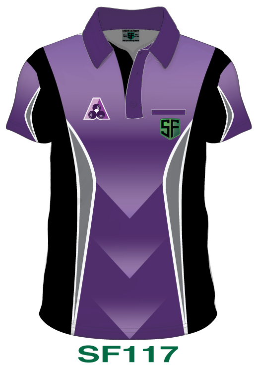 Lawn Bowls Polo Shirt Design