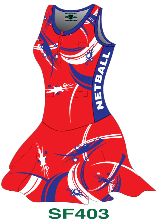 Netball Bodysuits Dresses Design 3