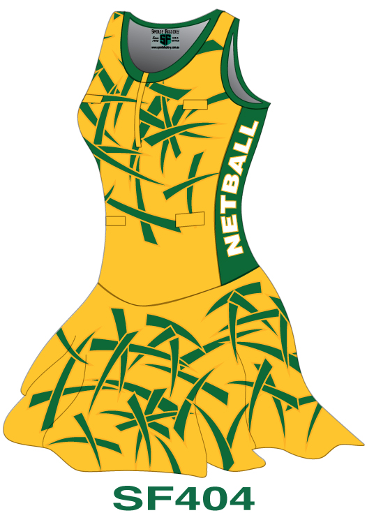 Netball Bodysuits Dresses Design 4