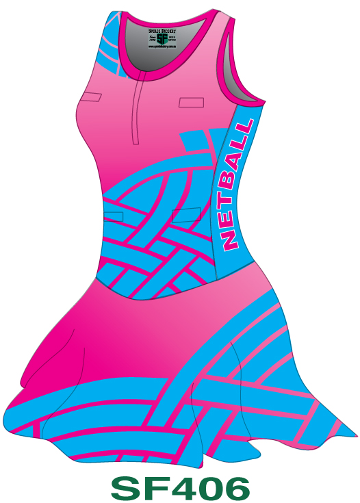 Netball Bodysuits Dresses Design 6