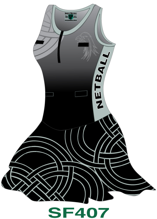 Netball Bodysuits Dresses Design 7