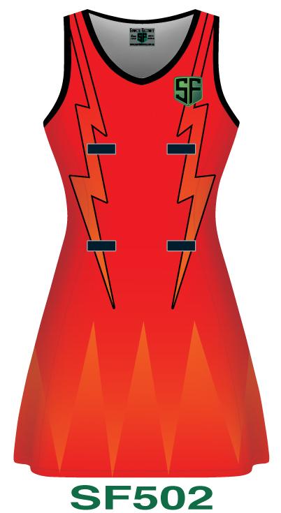 Netball Dresses Design 2