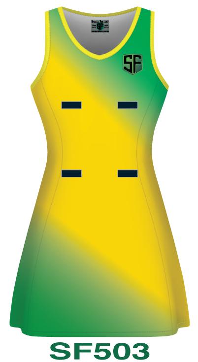 Netball Dresses Design 3