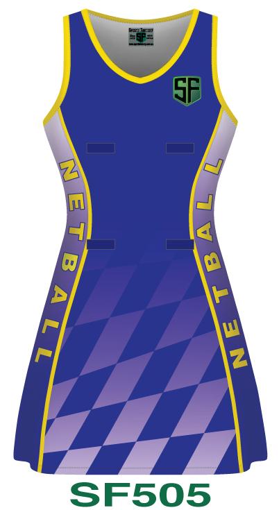 Netball Dresses Design 5