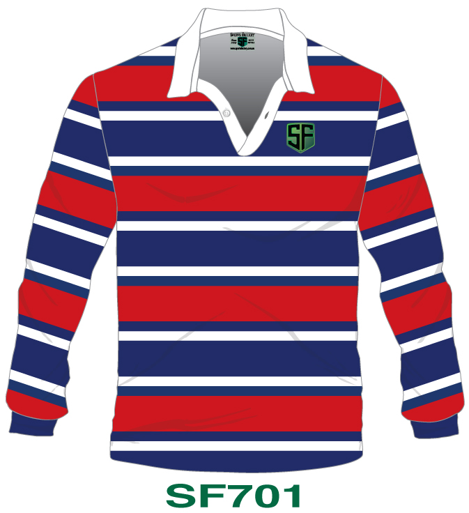 Knitted Rugby Jerseys Design